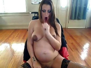 Smoking Fetish - Pregnant Smoking And Masturbating