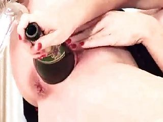 Hot Mastubate With Bottle
