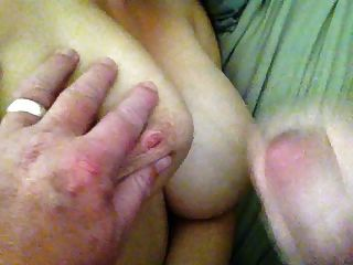 Woken With Cum On My Tits