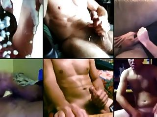 Many Guys Jacking Off Together Online.mp4
