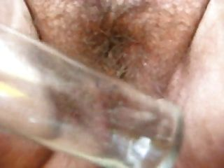 Fat Hairy Woman Masturbating To Music