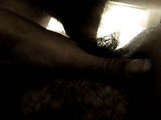 Hairy Amateur Wife - Deep Bush Penetration (close Up)