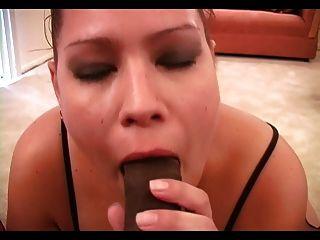 Bbw Sam Sucking Black Dick