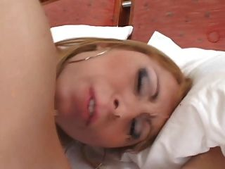 Cute Young Tranny With Perky Tits And A Big Dick Gets A Rimjob And A Buttfuck