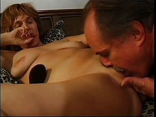 Hot Ginger Mature Fucked And Takes A Facial !
