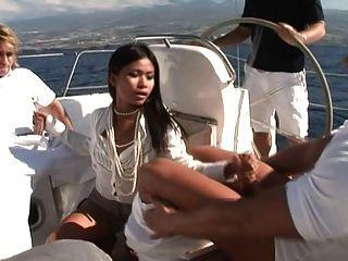 Priva - Yacht Threesome