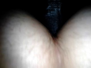 Hairy Bbw Takes It In The Ass