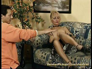 Pickup German Milf For Anal Fuck