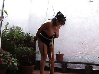 Tit Paddling, Flogging And Caning