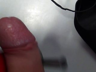 Cum In The Shoes Of Boss In His Office