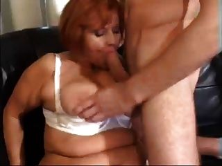Mature Woman Suck And Fucks Younger Guy