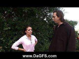 Milf Vanessa Outdoor Anal Bang