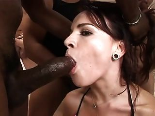 Extreme Gangbang And Swallow Bukkake