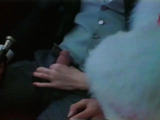 Olinka Hardiman In Fur Coat Gives Blowjob