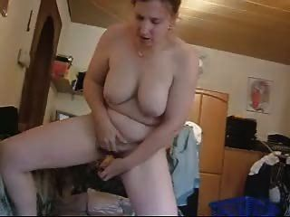 German Woman Masturbates