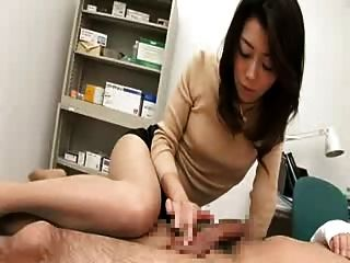 Japanese Handjob And Blowjob