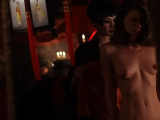 Lesbian Orgy Scene