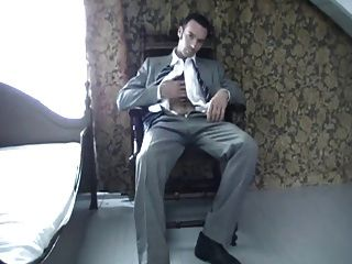 Hairy Hunk In A Suit
