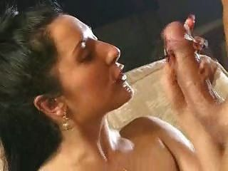 Hot Whore Deepthroats Cum From Huge Cock