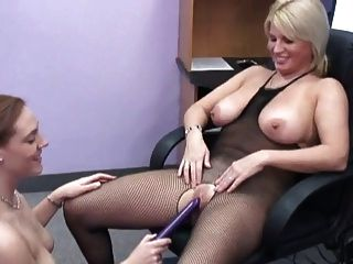 Girls Play With Dildo