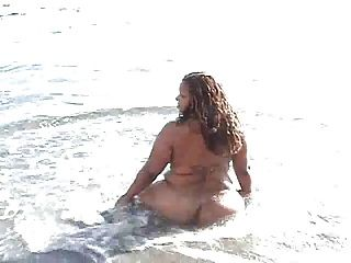 Bbw At The Beach
