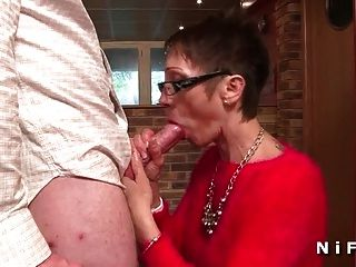 Big Boobed French Mature Hard Fucked