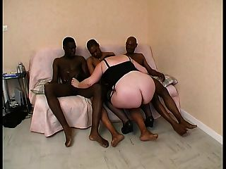 Sylviane A Bbw Gangbanged By Black Cocks
