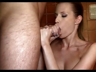 Marvellous Blowjob By A Foreign Blond Girl