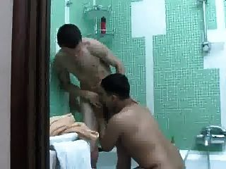 Play With Cousin In The Shower