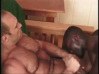 Interracial Gay Couple Fuck