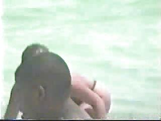 Miami Beach - Nude Girl Surfing