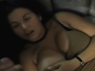 Honey With Nice Tits Do Blowjob