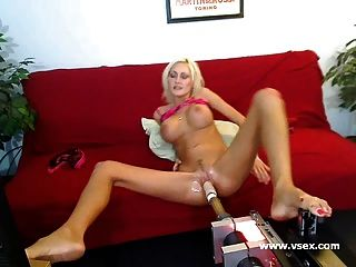 Busty Sex Machine Webcam With Torrey Pines