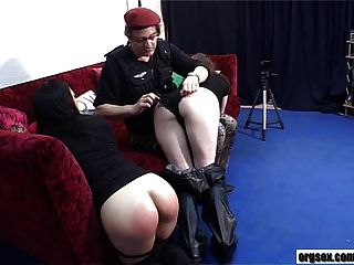 Spanking Of Sakura And Madame La Baronne
