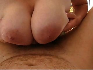 Huge German Titfuck With Poor Cock