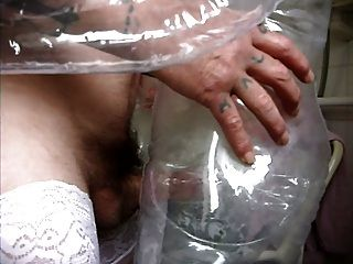 See Thru Blow Up Doll X2 (part 1