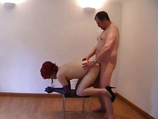 Hot Red Head Cd Gets Fucked
