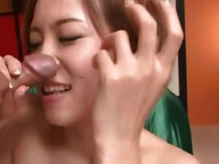 Ena Ouka Japanese Hottie 6 Of  8 Blowjob And Facial