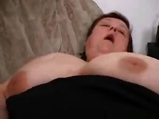 Beautiful Chubby Woman Masturbates And Fucks