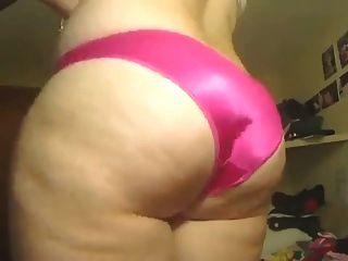 Thick Satin Panty Ass