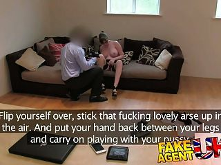 Fakeagentuk Amateur Brit Girl Gets Anal And Creampied
