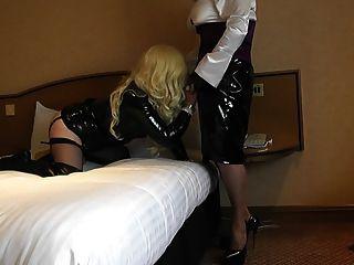 Celeste & Slut Nicola Having More Kinky Fun