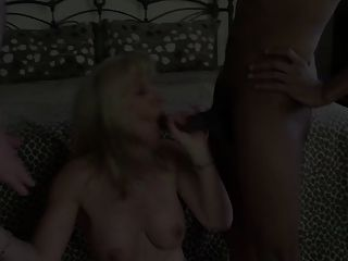 Double Creampie And A Mouthful Of Cum