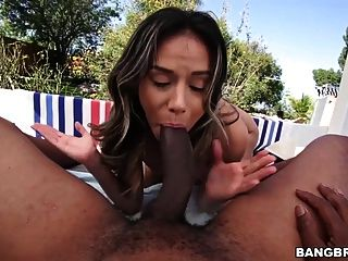 Nadia Styles Is Not Ready For Big Black Cock