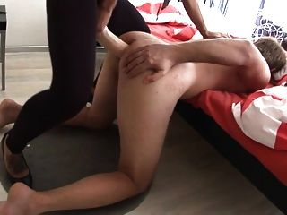 Russian Beauty Bangs Him Very Hard