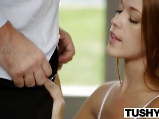 Tushy Preppy Redhead Kimberly Brix First Anal