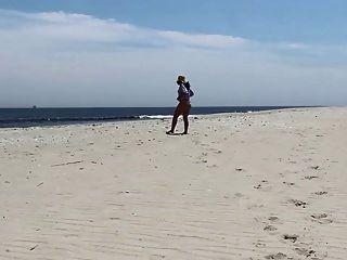 Jackie Stevens Is Wildflower On Nude Beach