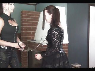 Ts Mistress Plays With Her Sub Girl P1