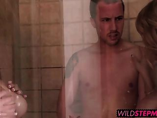 Cassidy Was In The Shower Fucking