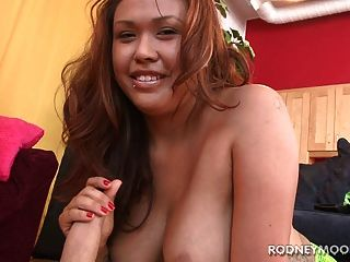 Asian Chubby Girl Harley Big Boobs Sucking Cock Deep Monster